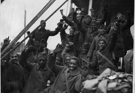 African Americans in battle